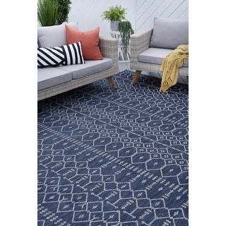 Link to Porch & Den Becket Contemporary Geometric Area Rug Similar Items in Rugs
