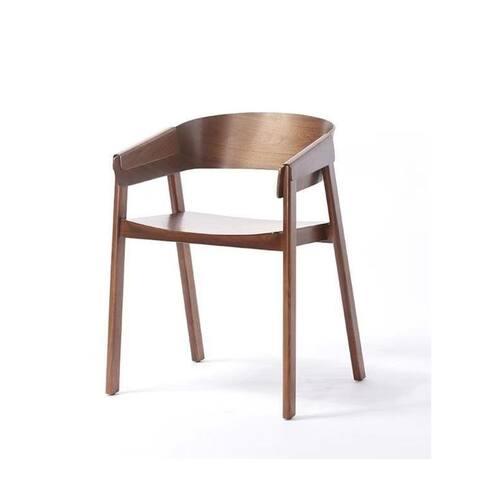STELLAN Modern Wood Scandinavian Armchair