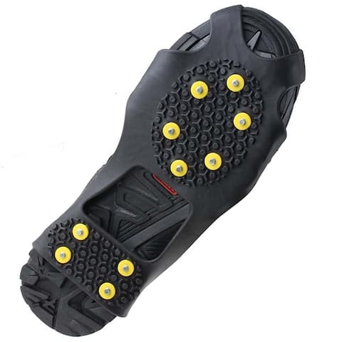 Image Size S Ice Cleats Snow Grips Anti Slip Walk Traction Shoes Chains Crampons