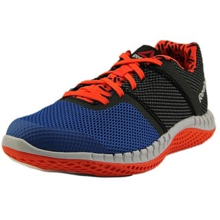 Reebok Zprint Run GR Round Toe Synthetic Sneakers