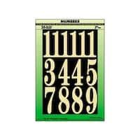 """Hy-Ko 3"""" Numbers"""