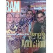 Signed Janes Addiction Bam Magazine 112197 autographed