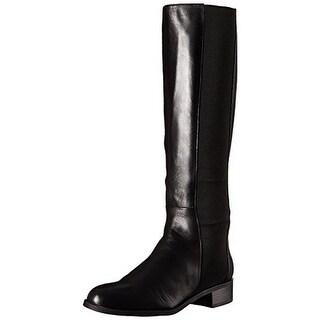 Calvin Klein Womens Gwenda Riding Boots Faux Leather Knee-High