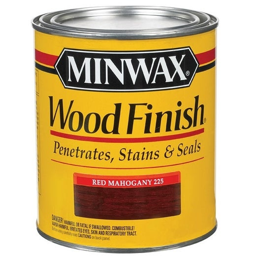 Shop Minwax 70007 Oil Based Penetrating Wood Finish Red Mahogany 1