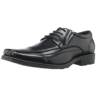 Kenneth Cole Reaction Mens Ultra Slick Faux Leather Lace Up Oxfords - 7.5 medium (d)