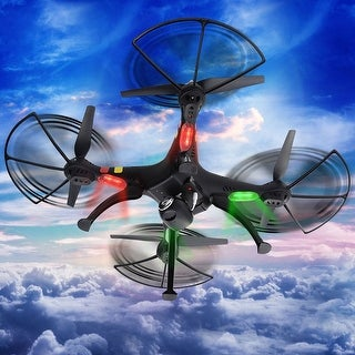 Syma X8C 2.4Ghz 6-Axis Gyro RC Quadcopter 2MP HD Camera UAV UFO RTF Black