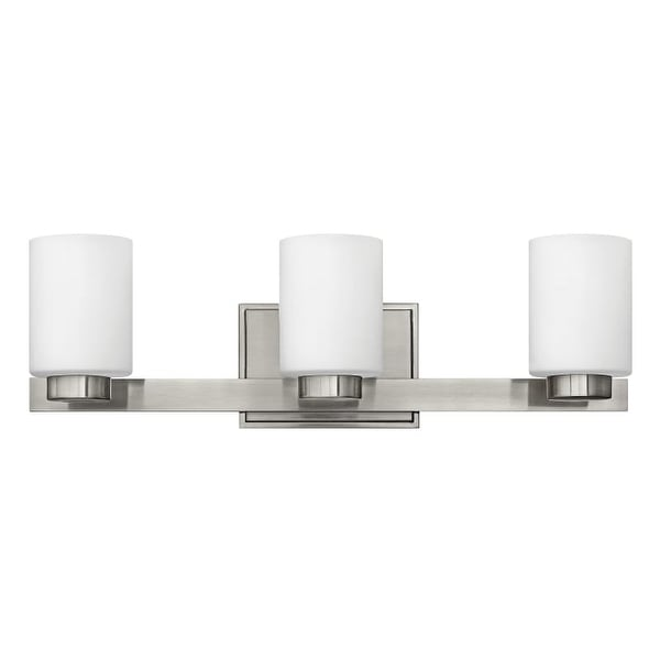 """Hinkley Lighting 5053 3 Light 21.5"""" Width Bathroom Vanity Light from the Miley Collection"""