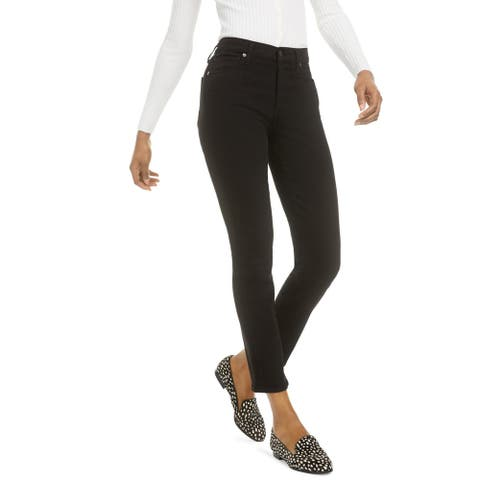 Citizens of Humanity Womens Harlow Ankle Jeans Denim Studded - Black - 25