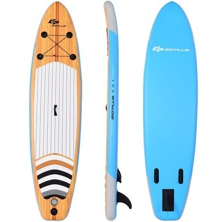 """10"""" Inflatable Stand up Paddle Board Surfboard SUP with Bag - Multi"""
