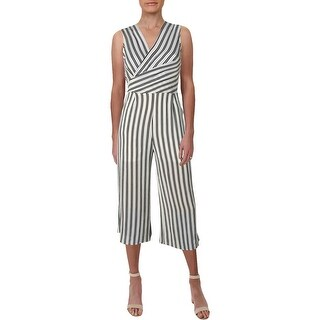 Aqua Womens Jumpsuit Crepe Sleeveless