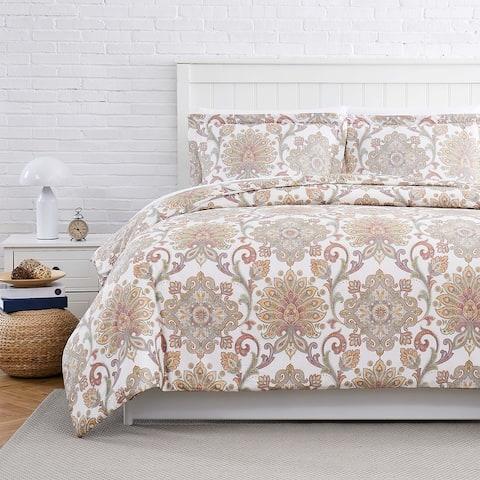 Serenity Cotton Duvet Cover Set