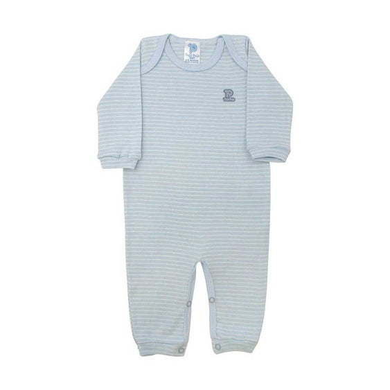 Baby Jumpsuit Unisex Long Sleeve Striped Pulla Bulla Sizes 0-18 Months