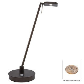 Kovacs P4326-647 1 Light LED Desk Lamp in Copper Bronze Patina from the George's Reading Room-Tablet Collection