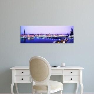 Easy Art Prints Panoramic Image 'Riddarholmen, Riddarholmen And The Old Town, Stockholm, Sweden' Canvas Art