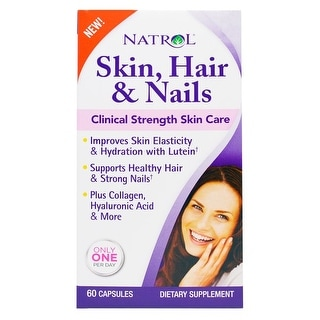 Natrol Skin Hair Nails 60-count
