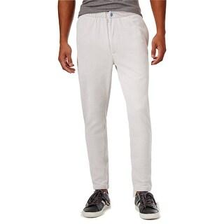 Sean John NEW Gray Mens Size 2XL Pull-On Zip-Fly Velour Jogger Pants