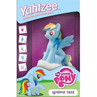 My Little Pony Rainbow Dash Yahtzee Dice Game