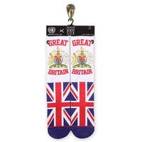 Odd Sox Great Britain Unisex Socks, 6-12