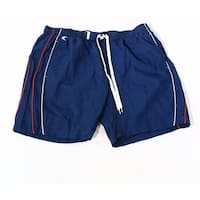 Teal Clove Navy Blue Mens Size 2XL Drawstring Board Short Swimwear