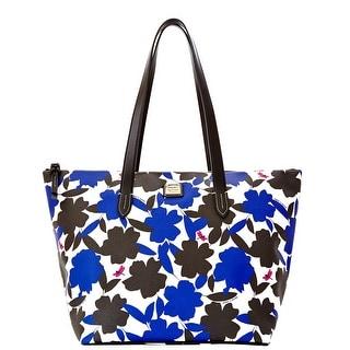 Dooney & Bourke Flora Layla (Introduced by Dooney & Bourke at $228 in Nov 2014) - Blue