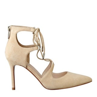 Marc Fisher Womens Toni Suede Closed Toe Ankle Strap Classic Pumps