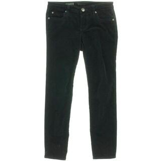 Kut From The Kloth Womens Petites Diana Corduroy Mid-Rise Skinny Pants - 2p