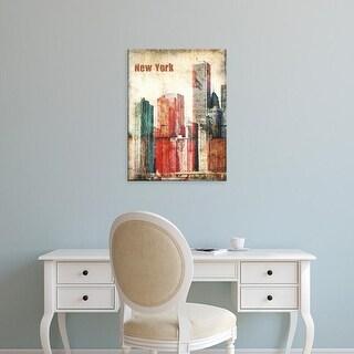 Easy Art Prints Irena Orlov's 'New York Grunge III' Premium Canvas Art