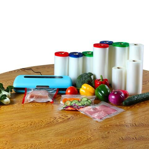 Textured Vacuum Food Sealer Saver Seal Bags Storage Rolls 50ft Length