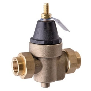 Watts 9479 Water Pressure Reducing Valve with Bypass Feature