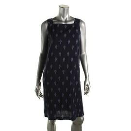 Eileen Fisher Womens Cotton Sleeveless Casual Dress - XS