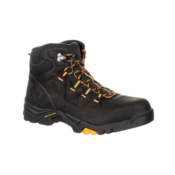 Georgia Boots Work Mens Waterproof Amplitude Round Black