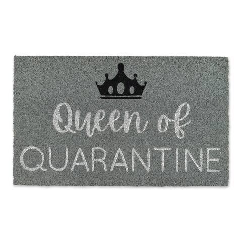 DII Queen Of Quanrantine Doormat - 2' x 3'