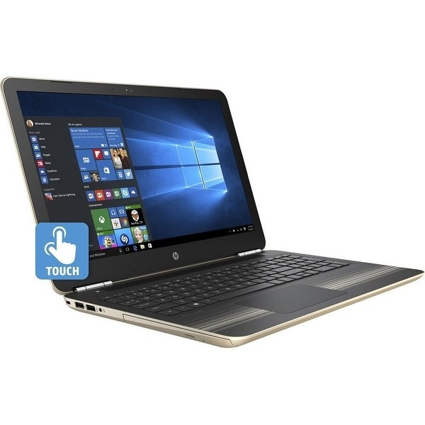 """Refurbished - HP Pavilion 15-AW077NR 15.6"""" Touch Laptop AMD A9-9410 2.9GHz 8GB 1TB Windows 10"""