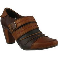 L'Artiste by Spring Step Women's Wondrous Brown Leather