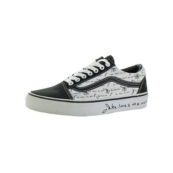 99bc3995d245 Shop Vans Womens Old Skool Skate Shoes Classic Low Top - Free ...
