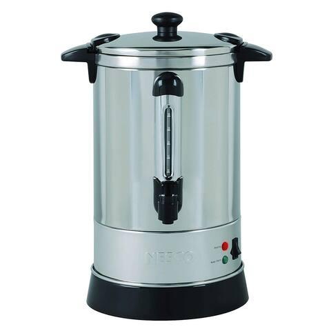 Nesco CU-30 Coffee urn, 30 Cups, Stainless Steel