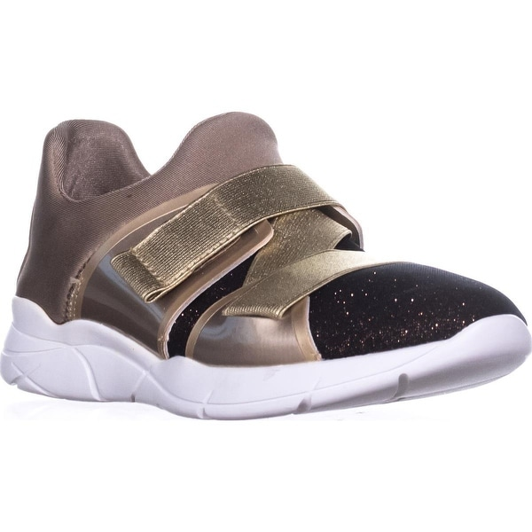 Guess Verna Pull-On Sneakers, Bronze Multi