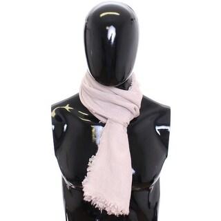 Dolce & Gabbana Scarf Men's Beige 100% Cashmere - One size