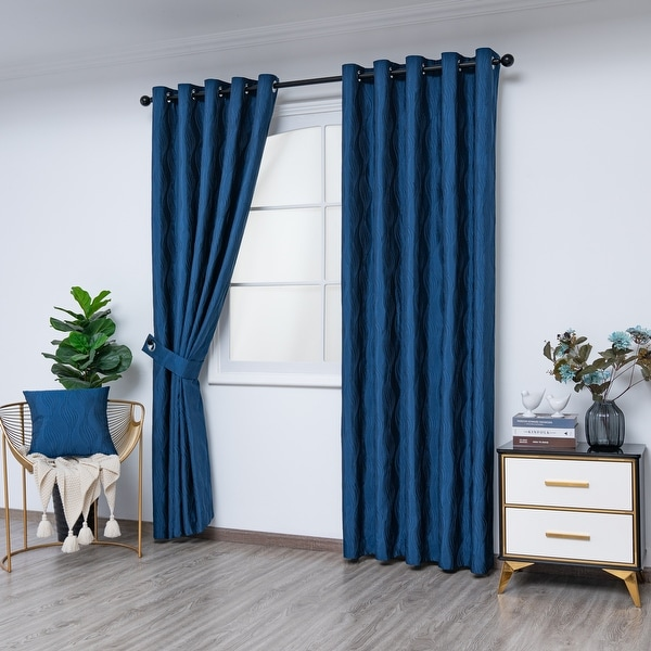 Gouchee Home Surf Indoor Panel Curtains 54 x 96 - N/A. Opens flyout.