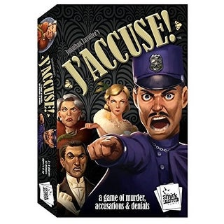 J'accuse! Game Board Game