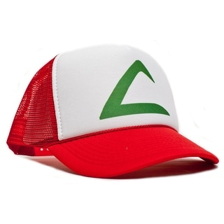 Pokemon Ash Ketchum Cartoon Hat Cap Trucker Baseball Snapback