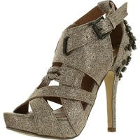 Not Rated Women's Rebel Platform Sandals - Champagne