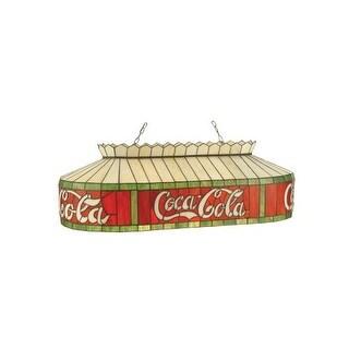 "Meyda Tiffany 98072 32"" L Coca-Cola Island / Billiard Fixture"