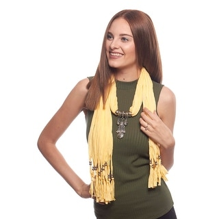 Lightweight Fashion Jewelry Scarf