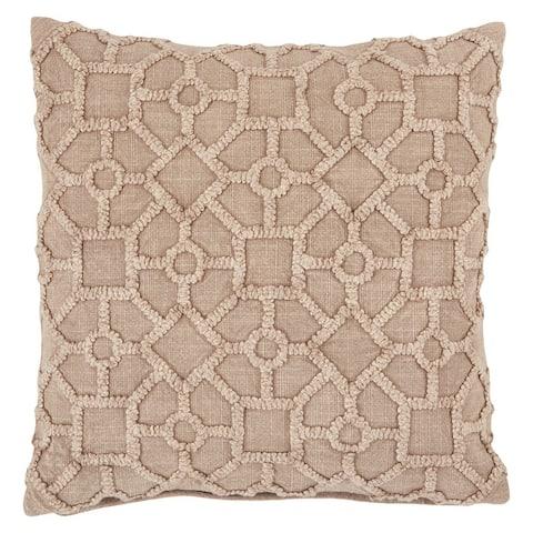 Espanola Trellis Throw Pillow 18 inch