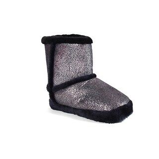 Happy Feet - Silver Shimmer Micro Boot - silver shimmer