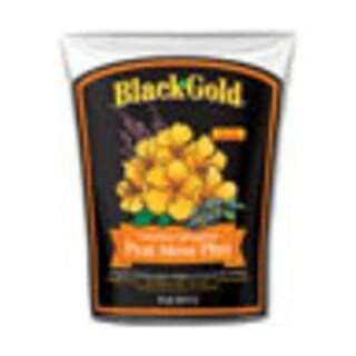 Black Gold 1410403 8QT Peat Moss Plus, Bag, 8 Qt