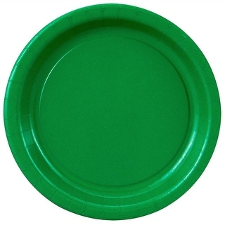 """Green Paper Plates - 8 5/8"""""""