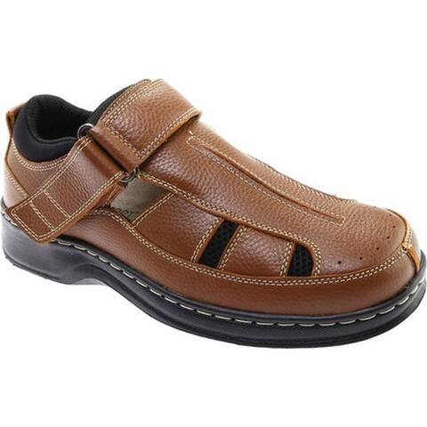 Orthofeet Men's Melbourne Brown Leather