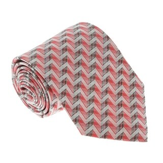 Missoni U4706 Pink Chevron 100% Silk Tie - 60-3